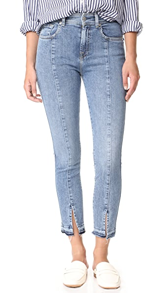 7 For All Mankind Ankle Skinny Jeans