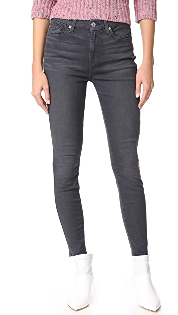 7 For All Mankind The B(air) HW Ankle Skinny