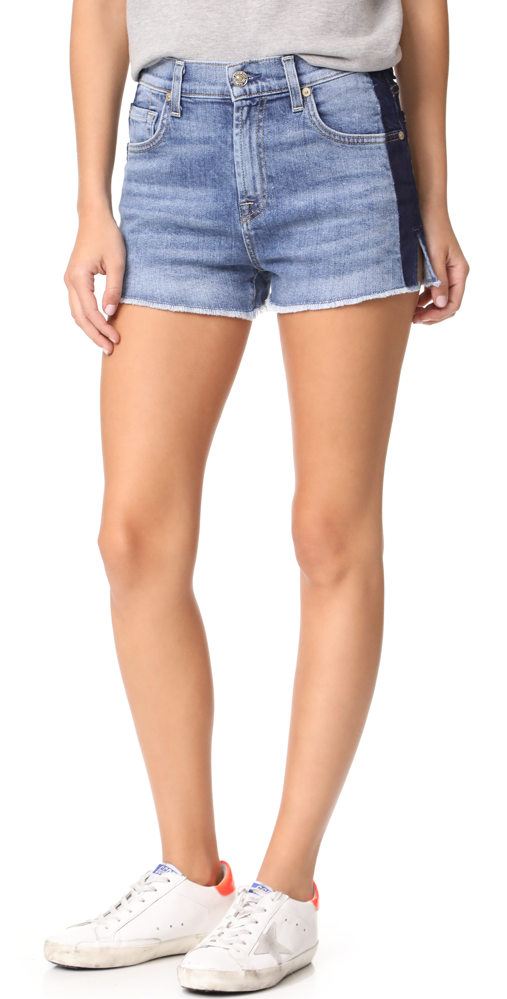 High Waist Cutoff Shorts 7 For All Mankind