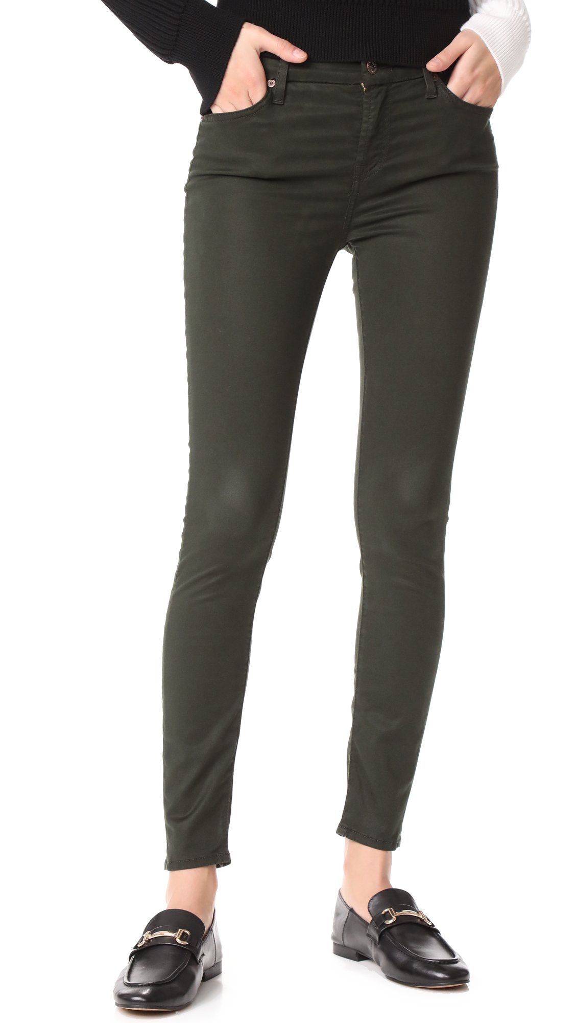 7 For All Mankind The B(air) Ankle Skinny Jeans