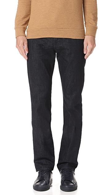 7 For All Mankind Luxe Performance Straight Fit Jeans