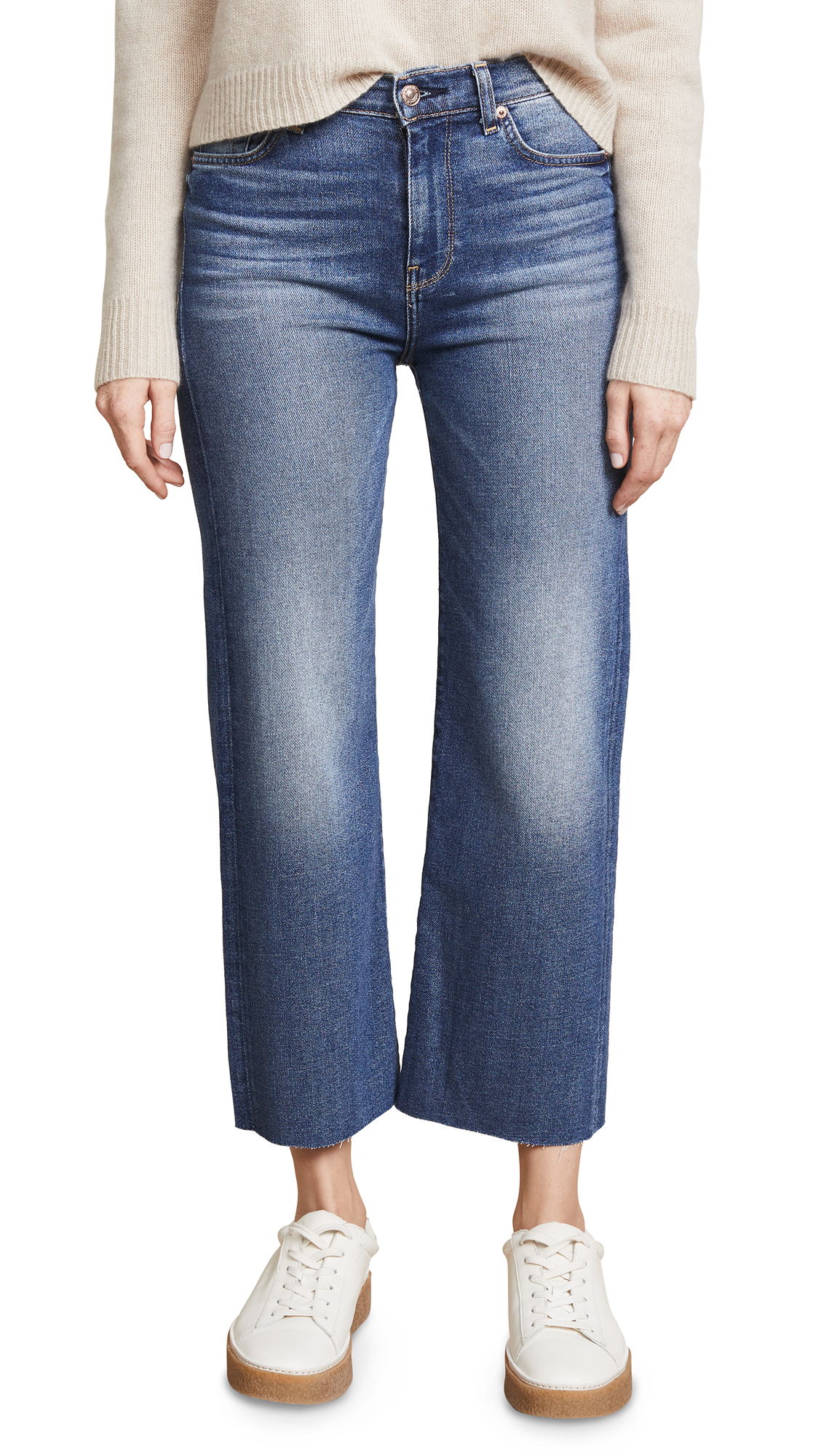 CROPPED ALEXA TROUSER JEANS