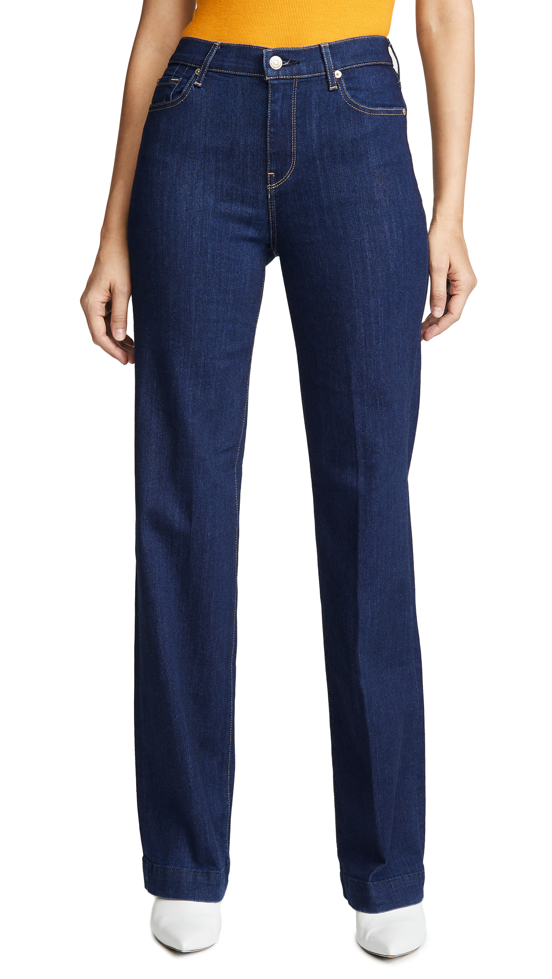 Alexa Trouser Jeans with Creasing