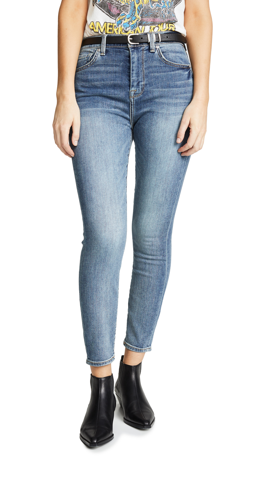 7 For All Mankind B(air) Authentic Fortune Jeans - B(Air) Authentic Fortune