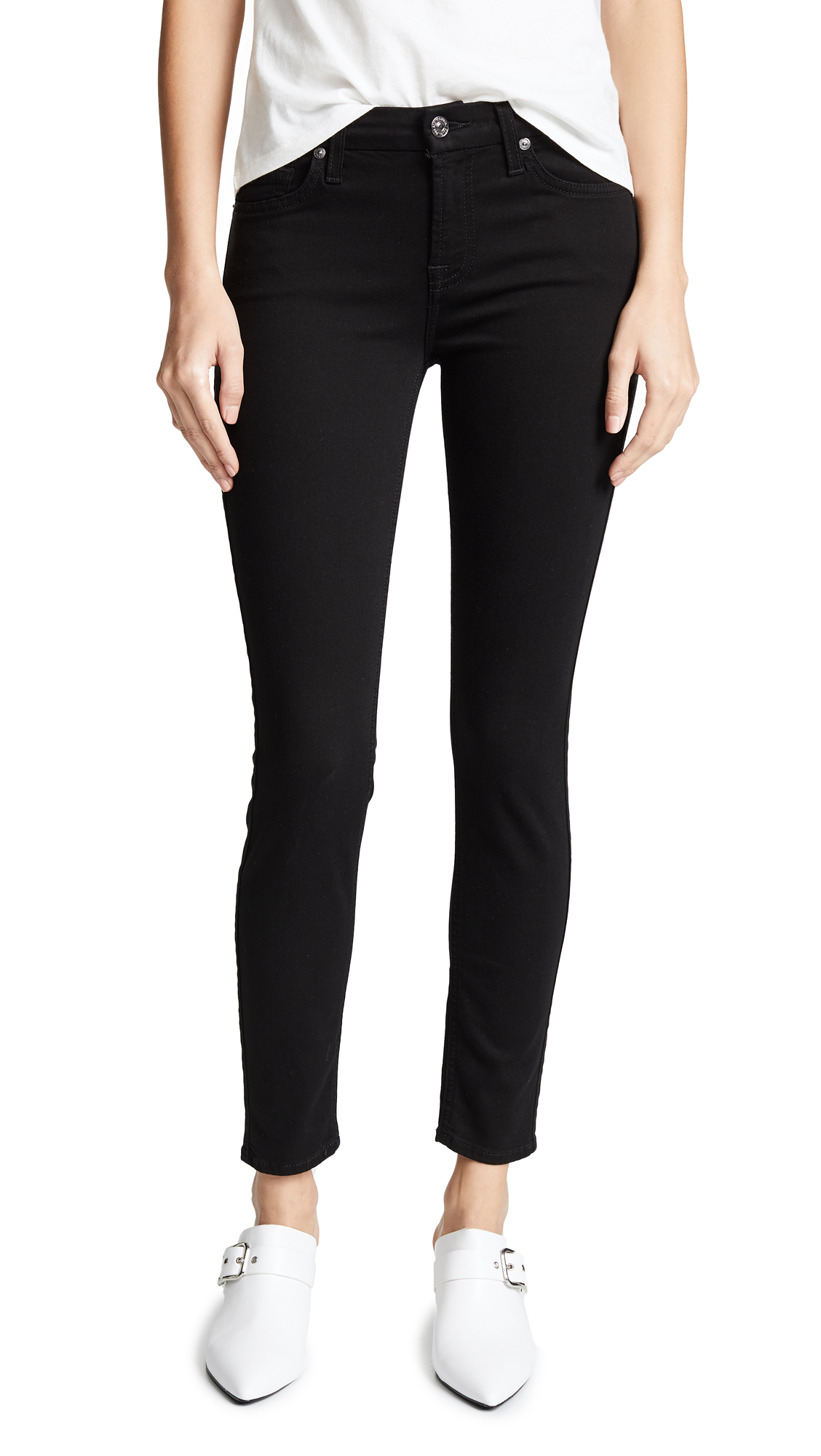 Buy 7 For All Mankind online - photo of 7 For All Mankind (b)air Ankle Skinny Jeans