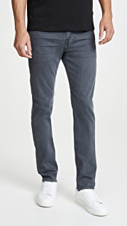7 For All Mankind Skinny Paxtyn Jeans in Dark Grey