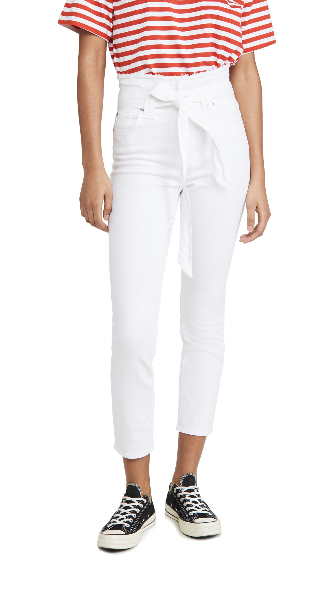 Buy 7 For All Mankind online - photo of 7 For All Mankind Paperbag Pants