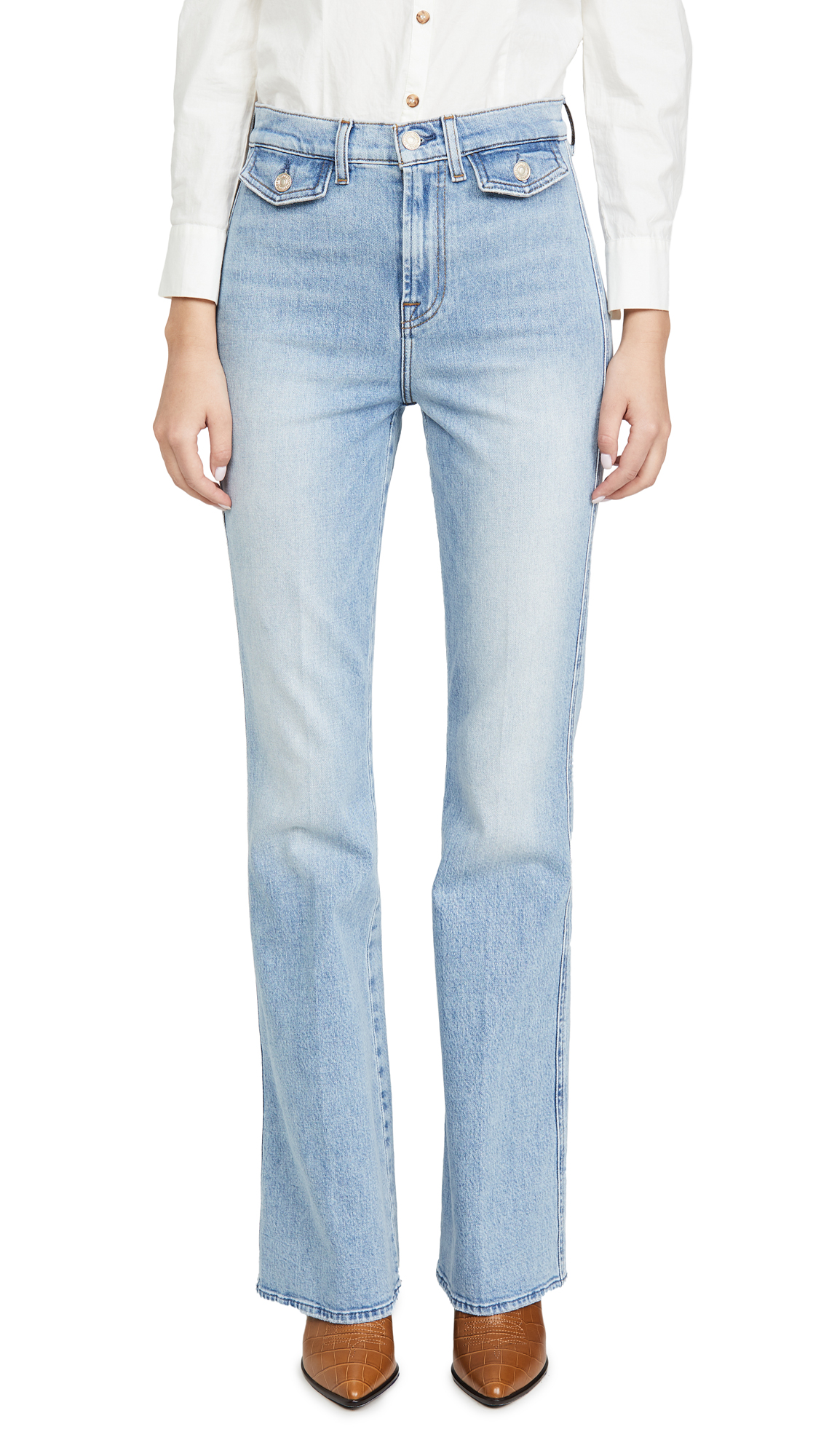 Buy 7 For All Mankind online - photo of 7 For All Mankind Modern A Pocket Jeans