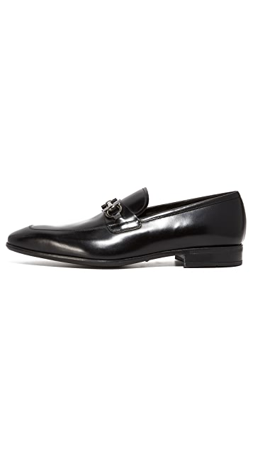 Salvatore Ferragamo Giant Bit Loafers