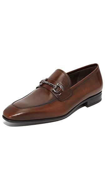 Salvatore Ferragamo Giant Bit Loafers