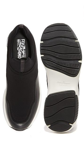 Salvatore Ferragamo Giolly Slip On Sneakers