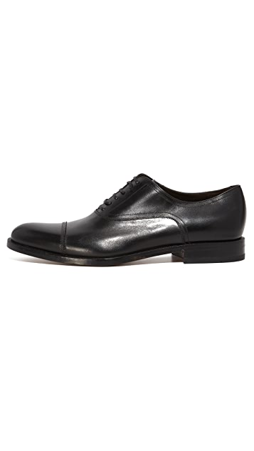 Salvatore Ferragamo Guru Cap Toe Lace Up Shoes