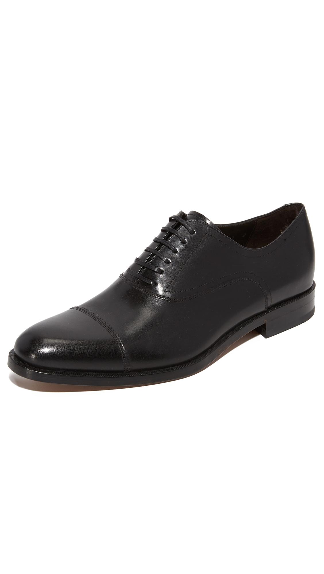 Salvatore Ferragamo Guru Cap Toe Lace Up Shoes