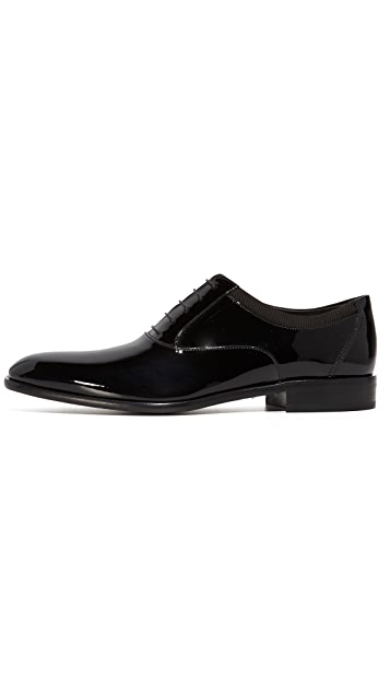Salvatore Ferragamo Aiden Patent Leather Shoes