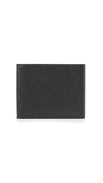 Salvatore Ferragamo 1041 Leather Tri Fold Wallet