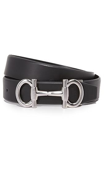 Salvatore Ferragamo Parigi Bit Adjustable Belt