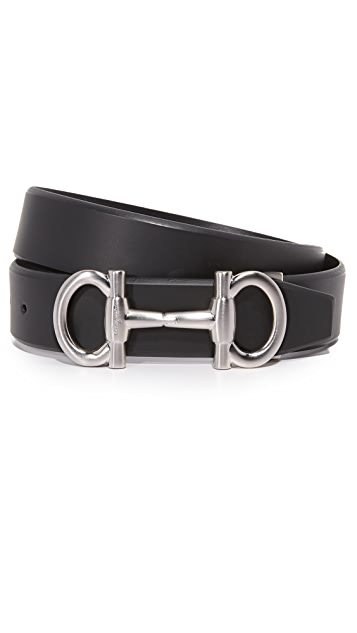 Salvatore Ferragamo Parigi Bit Adjustable Belt