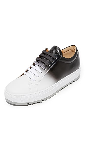 Salvatore Ferragamo Lan Ombre Leather Sneakers