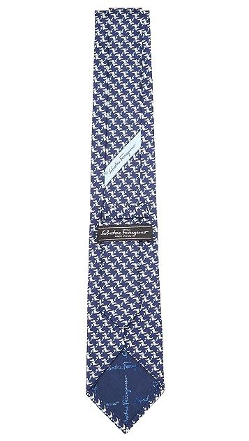 Salvatore Ferragamo Dragon Tie