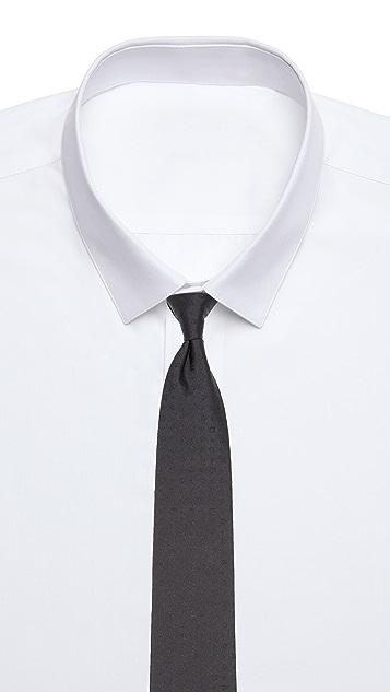 Salvatore Ferragamo Gancini Jacquard Formal Tie