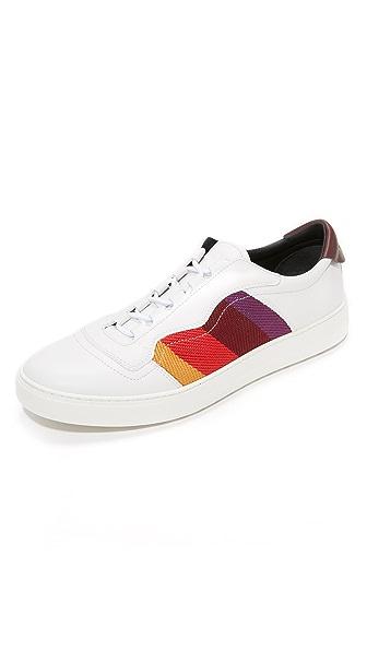 Salvatore Ferragamo Divo Stripe Sneakers