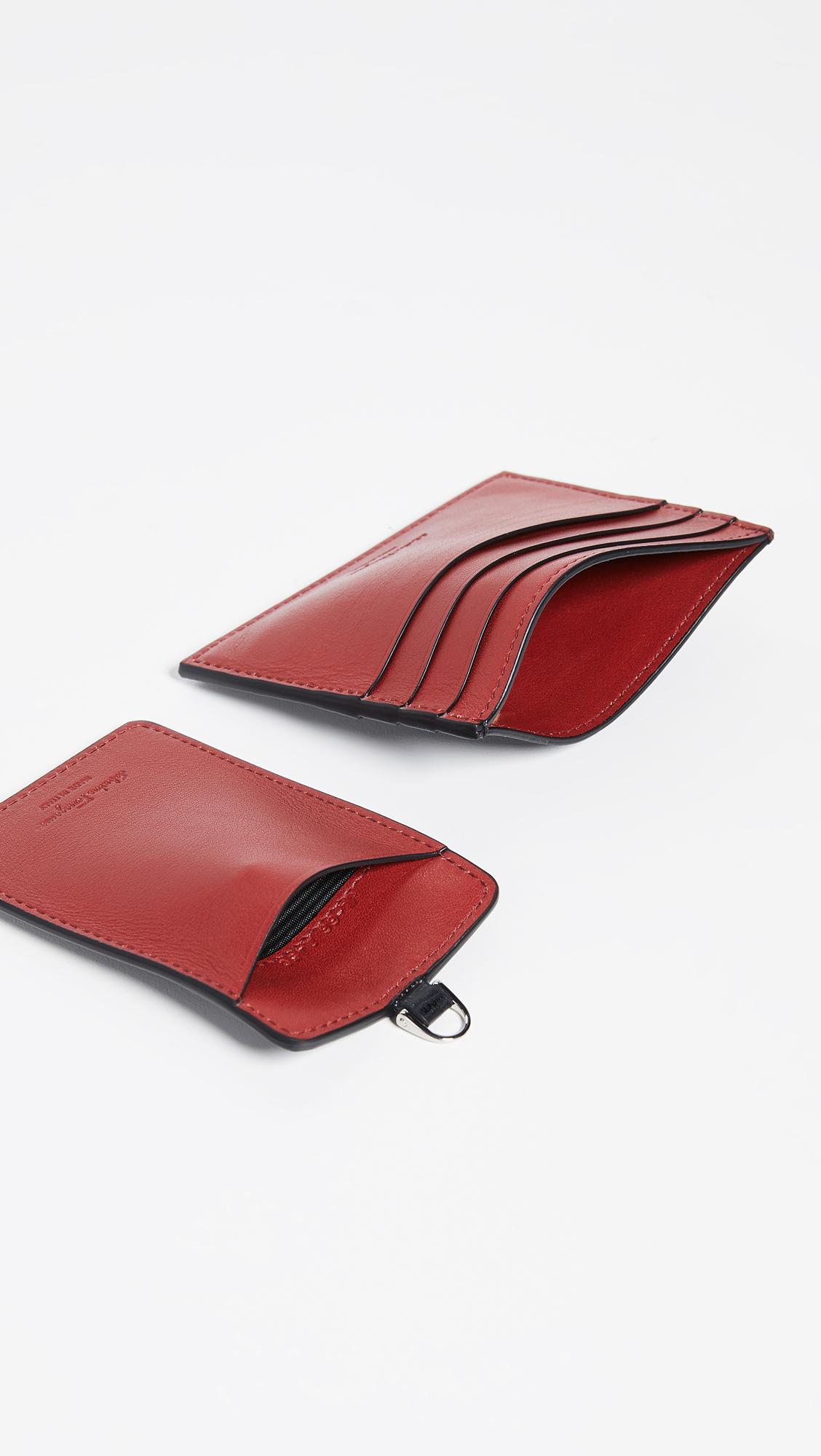 fb1efa03e65 Salvatore Ferragamo Revival Gancini Card Case   Lanyard Gift Box ...