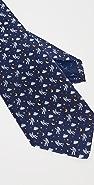 Salvatore Ferragamo Astronaut Print Tie