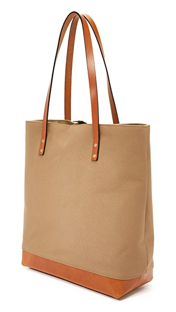Southern Field Industries Waxed Canvas SF Tote