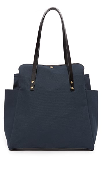 Southern Field Industries Waxed Canvas Shopper
