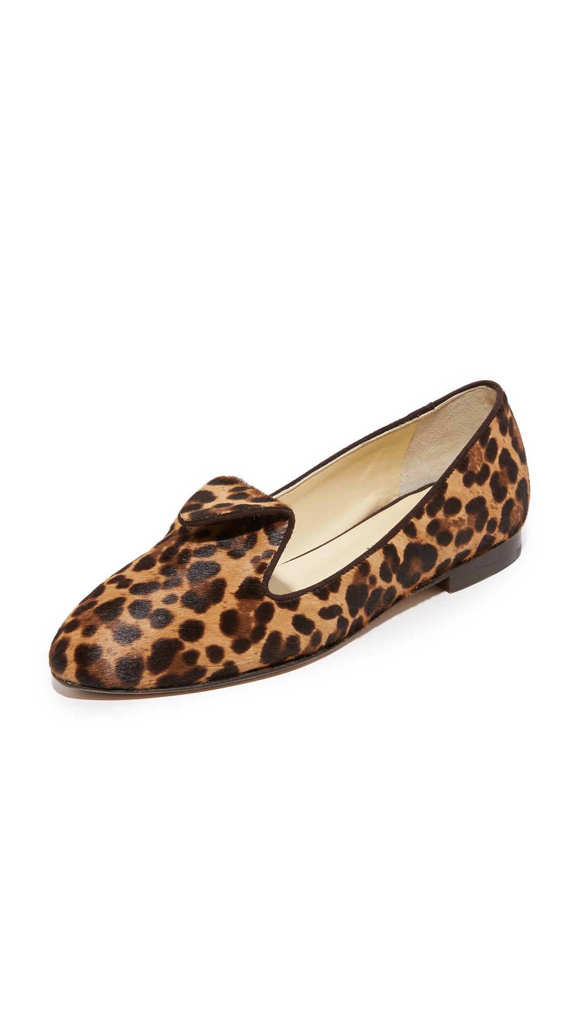 sarah flint female sarah flint andrea flats chocolate leopard