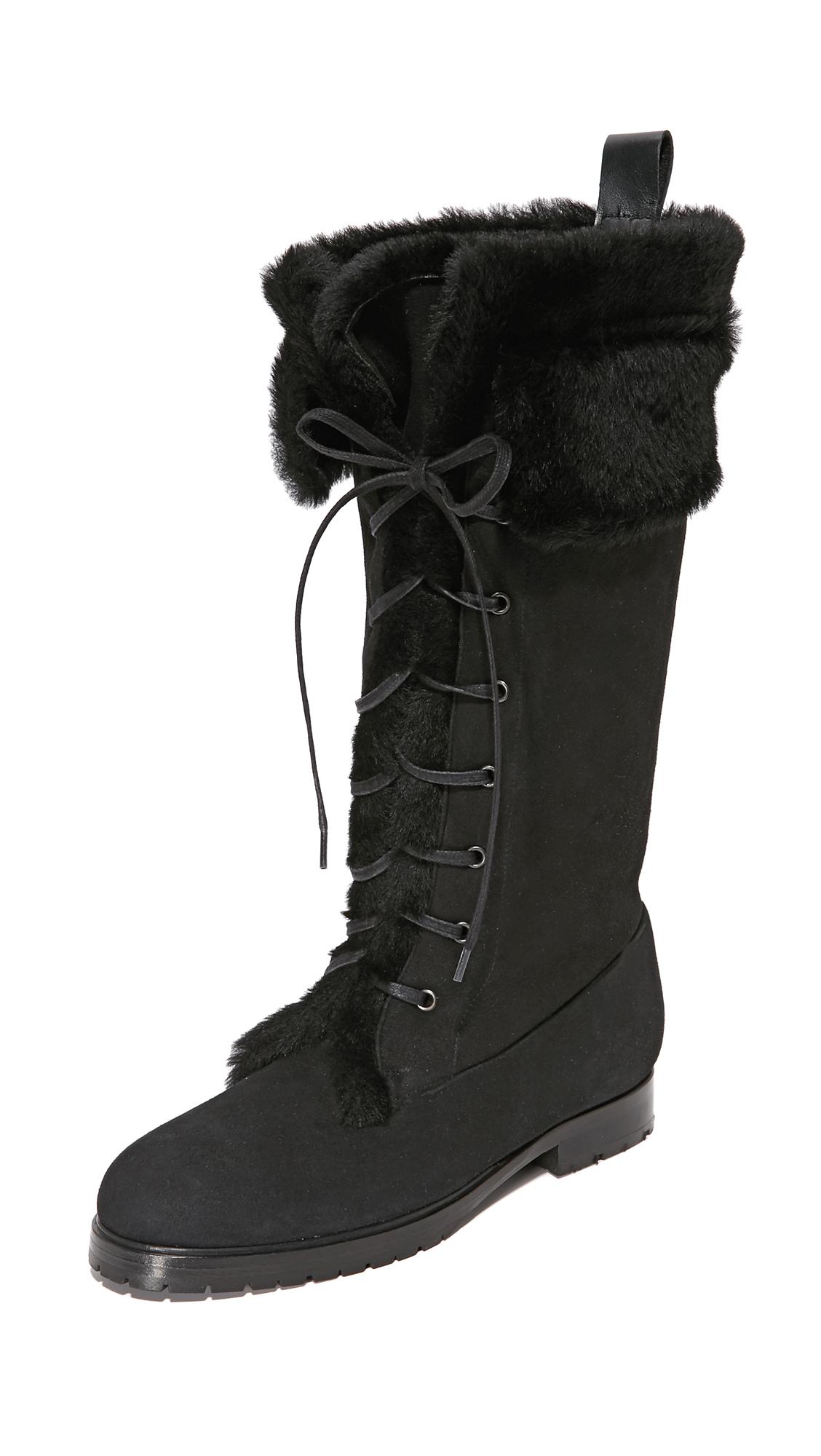 Sarah Flint Cortina Boots - Black