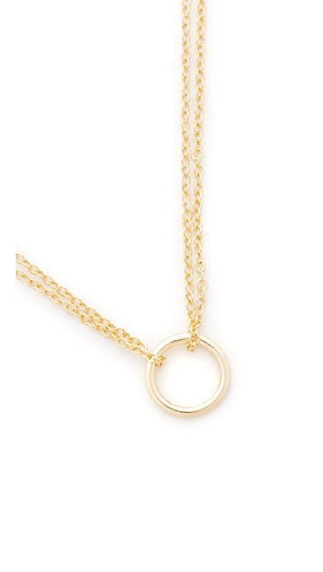 Shashi Circle Necklace