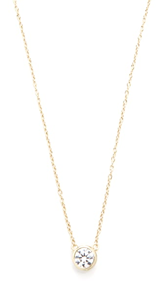 Shashi Solitaire Necklace