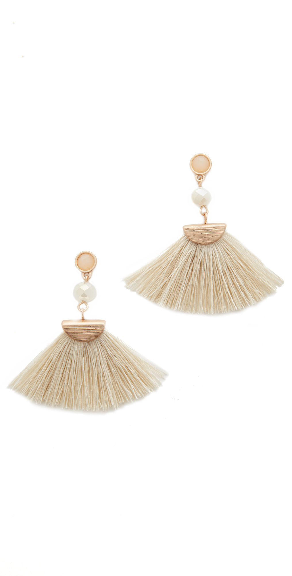 Mia Tassel Fan Earrings Shashi