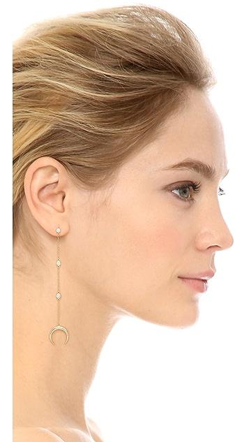 Shashi Tusk Earrings