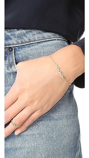 Shashi Chain Pave Bracelet