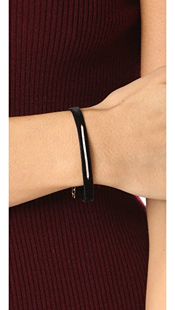 Shashi Pave Bar Luna Bracelet