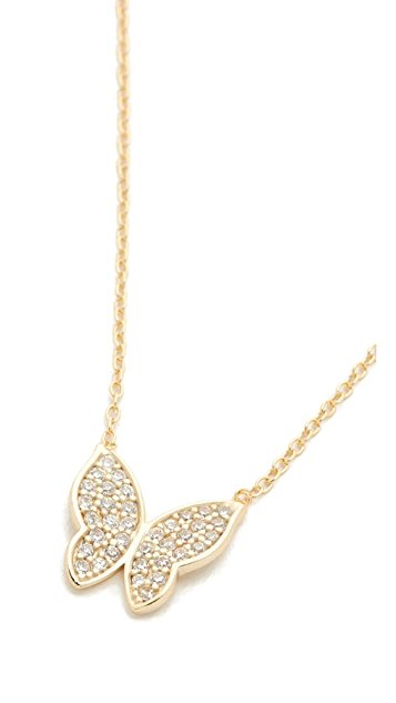 Shashi Butterfly Necklace