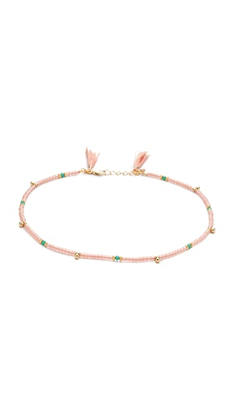 Shashi Eliza Wrap Choker Necklace