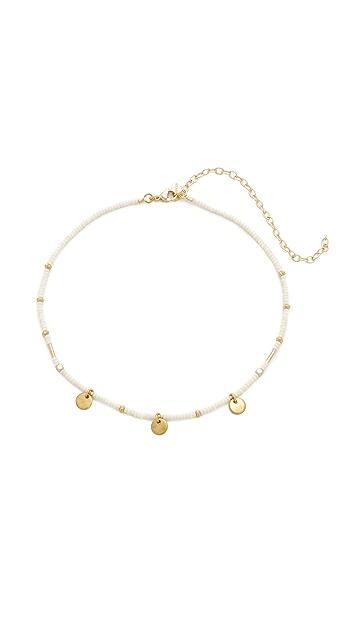 Shashi Disc Choker Necklace