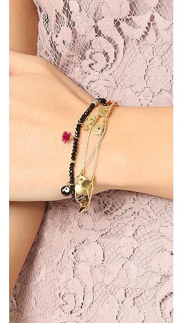 Shashi Olivia Disc Bracelet