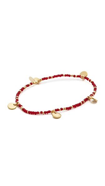 Shashi Disc Stretch Bracelet