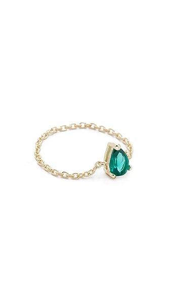 Shashi Kamila Chain Ring