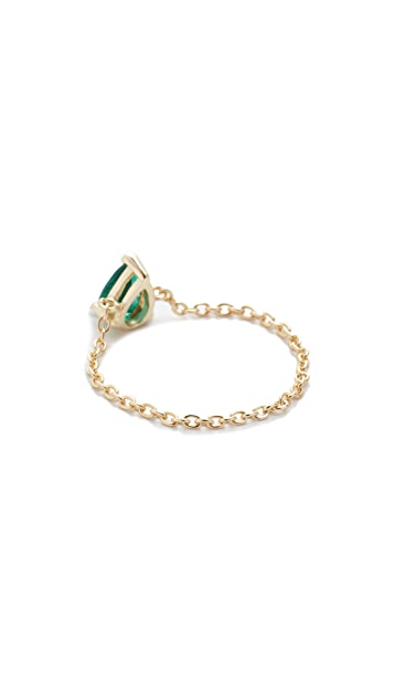 Shashi Kamila Chain Ring