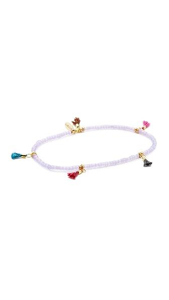 Shashi Lilu Tassel Bracelet