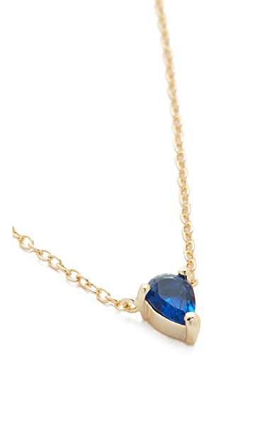 Shashi Kamila Solitaire Necklace