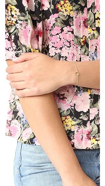 Shashi Heart Bracelet