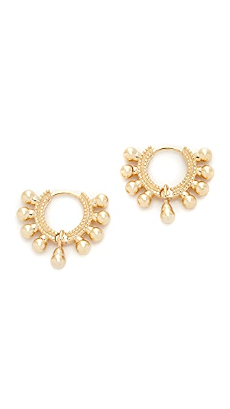 Shashi Lola Hoop Earrings