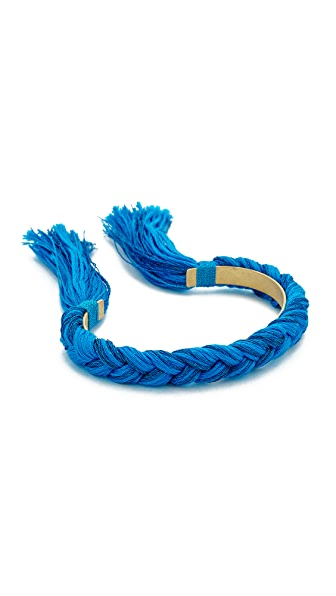 Shashi Celine Cuff Bracelet - Cobalt