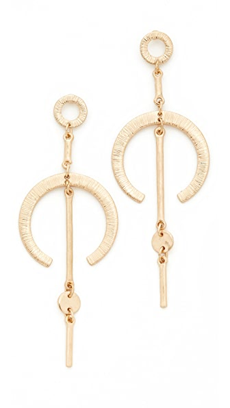 Shashi Aiza Earrings - Gold